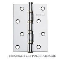 100X70X2.5 4BB POLISH CHROME