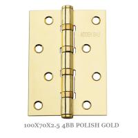 100X70X2.5 4BB POLISH GOLD