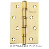 100X70X2.5 4BB SATIN GOLD