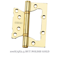 100X75X2.5 BUT POLISH GOLD