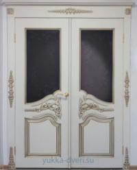Двухстворчатая межкомнатная дверь.
