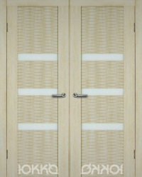 Ф3-3D двустворчатый блок межкомнатных дверей