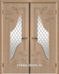 Каролина двустворчатый блок межкомнатных дверей