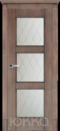 Межкомнатная дверь Данте 3 со стеклом