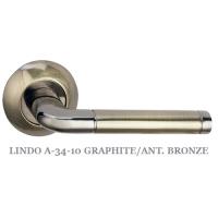 LINDO A-34-10 GRAPHITE/ANT. BRONZE.