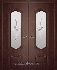 Двухстворчатые двери в гостинную.
