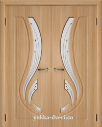 Двухстворчатые межкомнатные двери Элегия