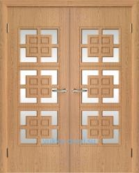Фаворит двустворчатый блок межкомнатных дверей