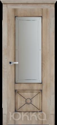 Межкомнатная дверь Данте2 со стеклом