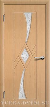 Межкомнатная дверь Кристалл 3 ДО