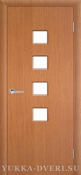 Межкомнатная дверь L 004 со стеклом