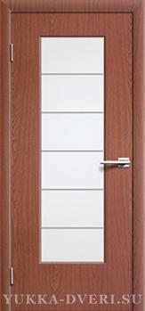 Межкомнатная дверь М2  ДО с молдингом