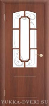 Межкомнатная дверь М4 ДО с решеткой
