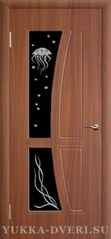 Межкомнатная дверь Медуза ДО бок