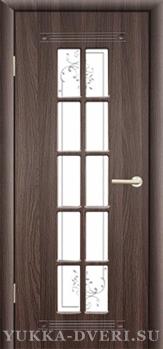Межкомнатная дверь PR 35  ДО с решеткой