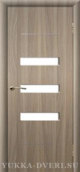 Межкомнатная дверь Вега 2 ДО молдинги