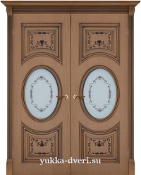 Монте-Карло двустворчатый блок межкомнатных дверей
