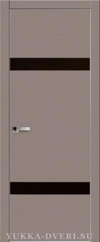 Межкомнатная дверь Платинум 1. в пленке пвх с алюминиевыми торцами