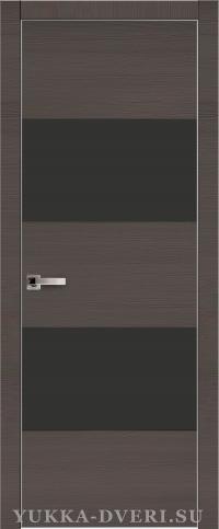 Межкомнатная дверь Платинум 2. с алюминиевой кромкой на торце