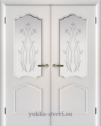 Дверь двухстворчатая межкомнатная недорого.