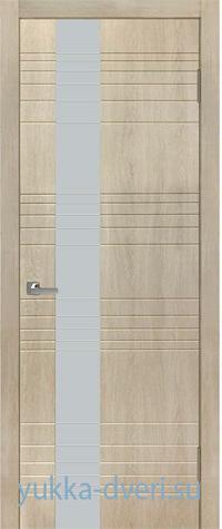 Межкомнатная дверь Royal l с гравировкой по стеклу